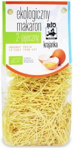 Makaron 2-u jajeczny Nitka Krajanka BIO 250g BIO Europa - 2875596247