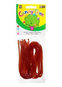 Żelki Nitki truskawkowe BIO 75g Candy Tree - 2825280233