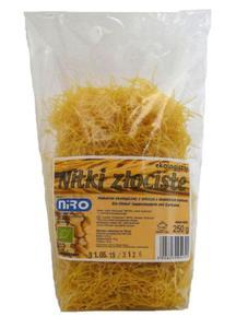 Makaron orkiszowy Nitki z kurkumą BIO 250g Niro - 2825280422