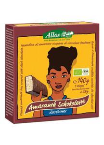 Baton amarantusowy w gorz. czek. 5 szt BIO 140g Allos - 2825280451