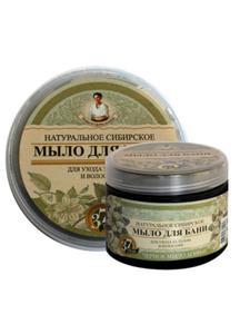 Mydło ziołowe czarne do ciała i włosów 500ml Agafi - 2887100924
