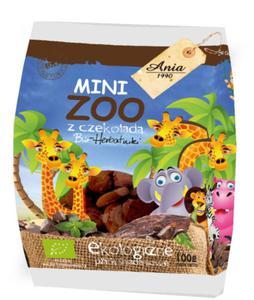 Ciasteczka z czekoladą Mini ZOO 100g BIO ANIA - 2825280553