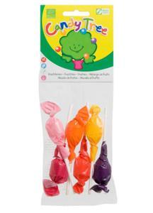 Lizaki okrągłe mix smaków BIO 6szt (6x10g) Candy Tree - 2825280600