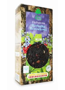 Herbatka borówkowa BIO 100g Dary Natury - 2825280755