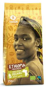 KAWA MIELONA ARABICA 100% YIRGACHEFFE ETIOPIA FAIR TRADE BIO 250 g - OXFAM - 2825280802