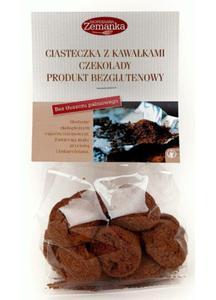 Ciasteczka z kawałkami czekolady bezgl. BIO 100g Zemanka - 2873180056