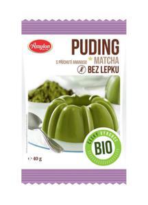 Budyń z herbatą Matcha o smaku ananasowym bezglut. BIO 40g Amylon - 2825281060