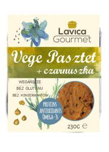 Vege pasztet z czarnuszką 230g Lavica Gourmet - 2865644525