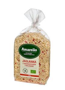 Jaglanka z amarantusem i malinami BIO 150g Amarello - 2825281100