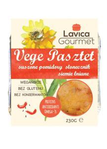 Vege pasztet z suszonymi pomidorami 230g Lavica Gourmet - 2865644526