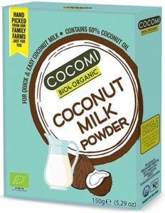 Kokosowa altetrnatywa mleka w proszku BIO 150g Cocomi
