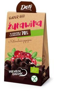 Żurawina w czekoladzie deserowej bezglut. BIO 60g Doti - 2825281216