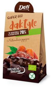 Daktyle w czekoladzie deserowej bezglut. BIO 70g Doti - 2825281217