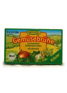 Kostki warzywne z ziołami BIO 8 szt Rapunzel - 2825279789