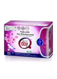 Podpaski higieniczne na noc z paskiem anionowym 8szt Gentle Day - 2825281308