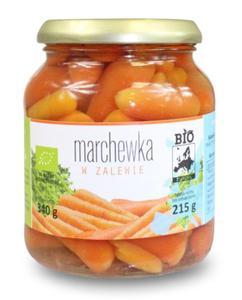 Marchewka w zalewie w słoiku BIO 340g (215g) Bio Europa - 2825281384