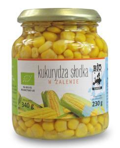 Kukurydza w zalewie w słoiku BIO 340g (230g) Bio Europa - 2825281385