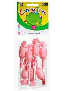 Lizaki okrągłe malinowe BIO 7 szt Candy Tree - 2825279804