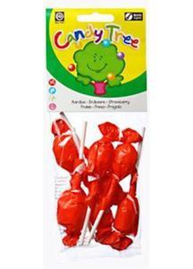 Lizaki okrągłe truskawkowe bezgluten. BIO 7 szt Candy Tree - 2825279807