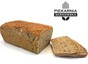 Chleb żytni razowy na zakwasie 650g Piekarnia Sarnowska - 2837080791