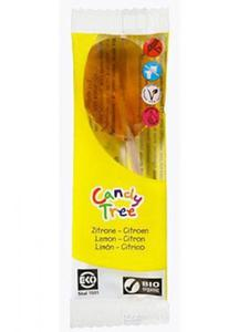 Lizak smak cytrynowy BIO 13g Candy Tree - 2825279809