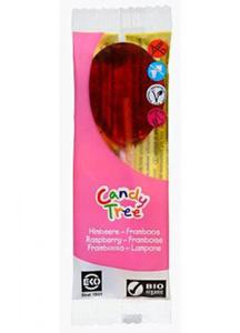 Lizak smak malinowy BIO 13g Candy Tree - 2825279811