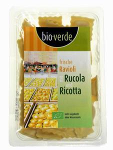 Ravioli nadziewane rukolą i serem ricotta BIO 250g Bio Verde - 2825281566