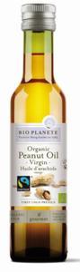 Olej z orzechów ziemnych Fair Trade BIO 250ml Bio Planete - 2835003753