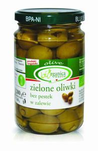 Oliwki zielone bez pestki BIO 280g Biorganica Nuova - 2877648357