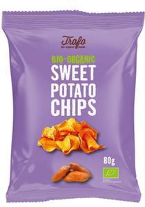 Chipsy z batatów pieczone na oleju kokosowym BIO 80g Trafo - 2854933252