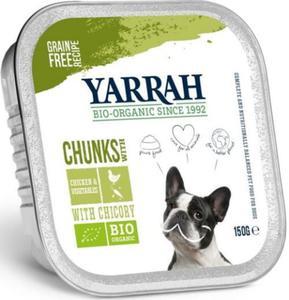 Dla psa Kawałki kurczaka z warzywami bezglutenowe EKO 150g Yarrah - 2836495624