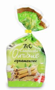 Ciasteczka Ani owsiane z cynamonem bez cukru BIO 150g BIO ANIA - 2836742751