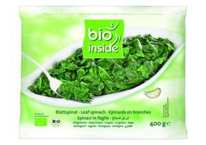 Szpinak w liściach mrożony BIO 400g Bio Inside - 2842033085