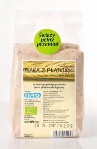 Mąka z płaskurki BIO 400g Niro - 2844339370