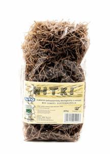 Makaron orkiszowy Nitki razowe BIO 400g Niro - 2825279851