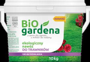 Naturalny nawóz do trawników 10kg Biogardena - 2847518622