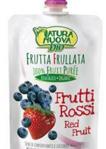 Przecier jabłkowy z czerwonymi owocami 100% BIO 100ml Natura Nuova - 2869119446