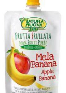 Przecier jabłkowo - bananowy BIO 100ml Natura Nuova - 2873428464