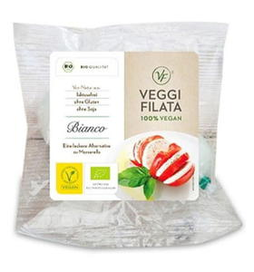 Produkt wegański a'la Mozzarella BIO 120g Veggi Filata - 2852441043