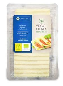 Produkt wegański a'la ser żółty w plastrach BIO 150g Veggi Filata - 2864490389