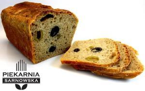Chleb orkiszowy włoski z oliwkami na zakwasie 600g Piekarnia Sarnowska - 2852713320
