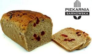 Chleb żytni z żurawiną na zakwasie 650g Piekarnia Sarnowska - 2852713321
