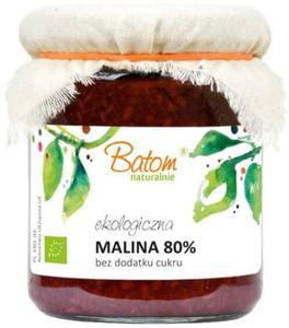 Malina 80% bez cukru BIO 270ml Batom - 2856675574