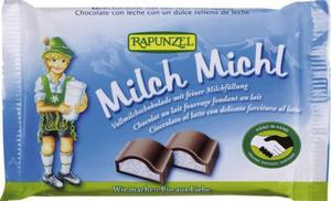 Czekolada z nadzieniem mlecznym dla dzieci BIO 100g Rapunzel - 2857475597
