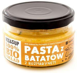 Pasta z batatów z rozmarynem BIO 190g Vega Up - 2877648364