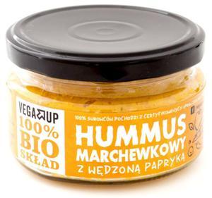 Hummus marchewkowy z wędzoną papryką BIO 190g Vega Up - 2863989953