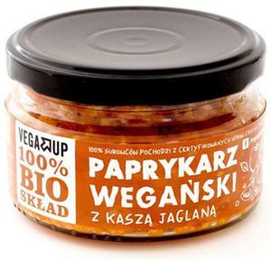Paprykarz wegański z kaszą jaglaną BIO 190g Vega Up - 2863989954