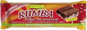 Baton czekoladowy Rumba z ryżem preparowanym BIO 50g Rapunzel - 2865876454