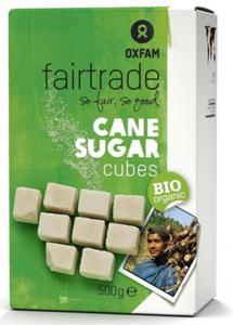 Cukier trzcinowy w kostkach Fair Trade BIO 0,5kg Oxfam - 2866388255