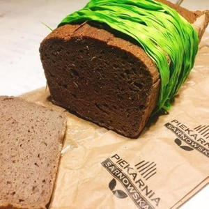 Chleb kasztanowy 450g Piekarnia Sarnowska - 2867170843